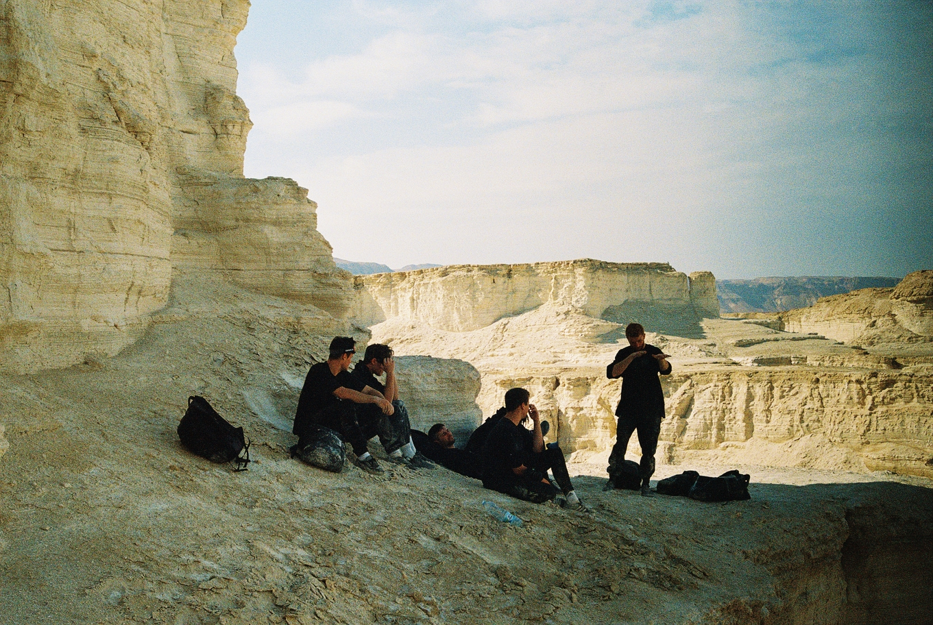 Parkour in the Negev desert