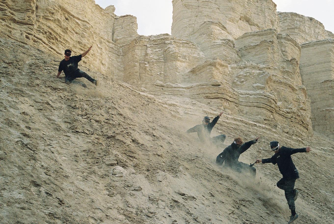 Parkour rampage in Negev