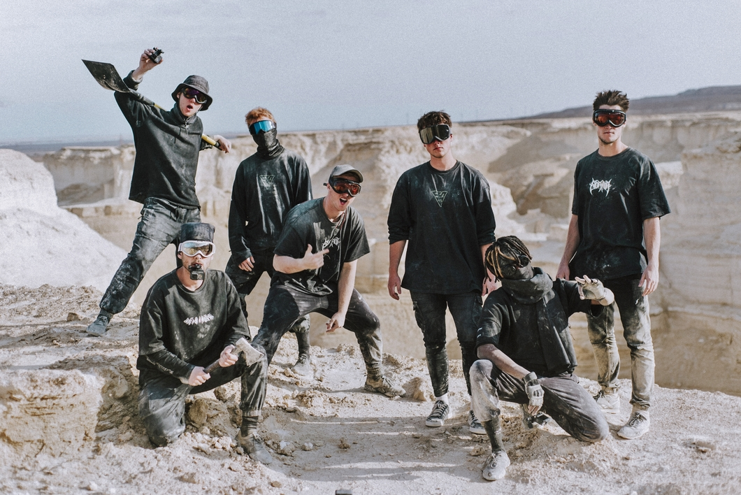 STORROR team in Negev desert
